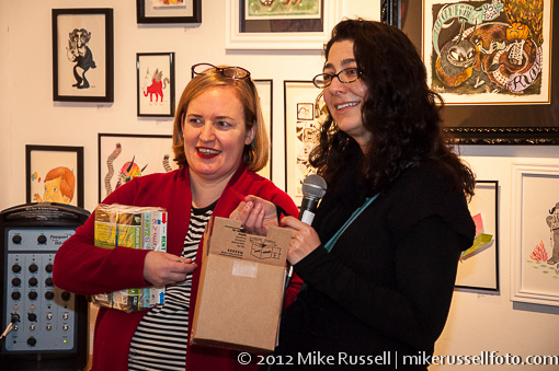 Seattle authors Jane Hodges and Michelle Goodman